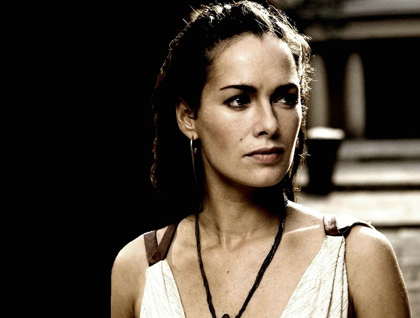 Lena Headey as Queen Gorgo.