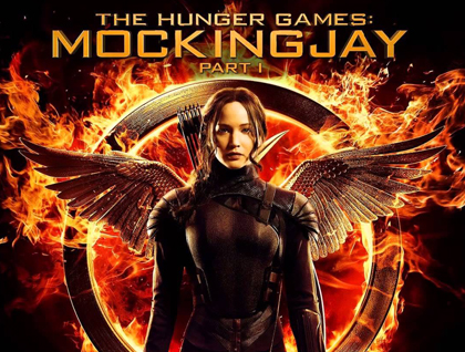 The Hunger Games Mockingjay part 1 cover art