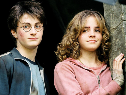 Hermione and Harry.