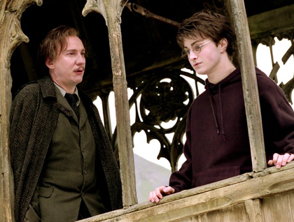 Harry Potter and Remus Lupin.