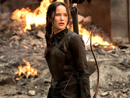 Katniss Well Done.