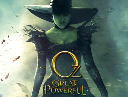 Oz the Great and Powerful cover art