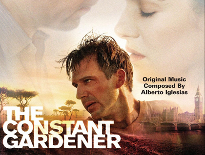 The Constant Gardener cover poster