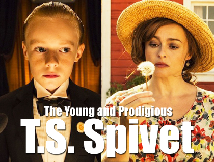 The Young and Prodigious T.S. Spivet Films poster.