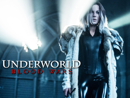 Underworld Blood Wars cover poster.