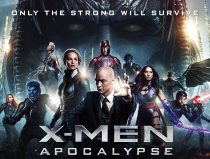 X Men Apocalypse cover art